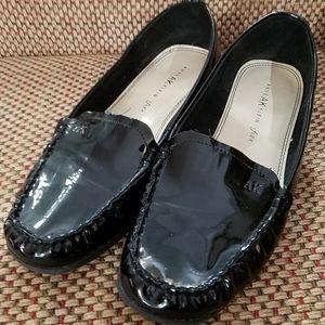 Anne Klein Black Loafers, sz 11M